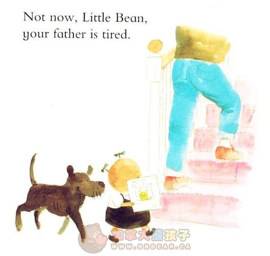 让无数爸爸感动的绘本!《little bean》小豆豆
