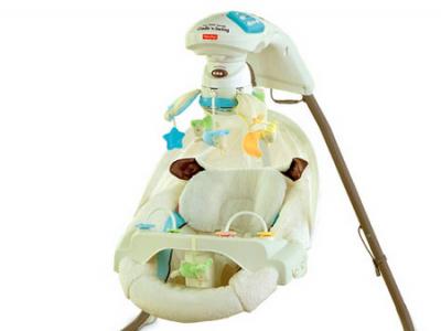 安抚神器:Fisher-Price My Little Lamb™ Cradle 'n Swing